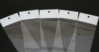 ヘッダー付 OPP袋(穴開け)印刷加工